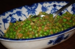 Buttered Peas and Leeks