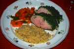 Pork Fillet with Mustard and Herbs