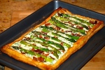 Herby Bacon and Asparagus Tart