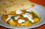 Fragrant Chicken Curry with Chickpeas