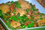 French-Style Chicken with Peas and Bacon