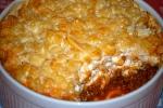 Greek Lamb and Macaroni Bake