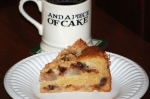 Pear and Mincemeat Crumble Cake Slice