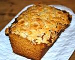Honey Cake with Honeyed Almond Crunch