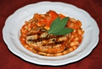 Pork Chops with Tuscan Beans
