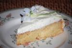 Almond, Elderflower, and Lime Cake