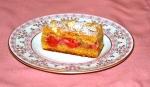 Raspberry Cinnamon Streusel Tart