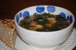 Kale, Chorizo, and Butterbean Soup