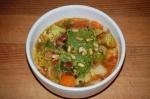 Borlotti Bean and Cabbage Soup