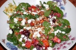 Quinoa, Beetroot, Squash, and Feta Salad