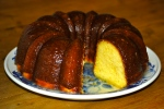Soured Cream Bundt Cake with Butter Glaze