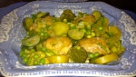 Saucy Chicken and Spring Vegetables