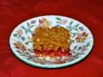 Plum and Cinnamon Oat Slice