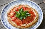 Tomato and Curd Cheese Tart