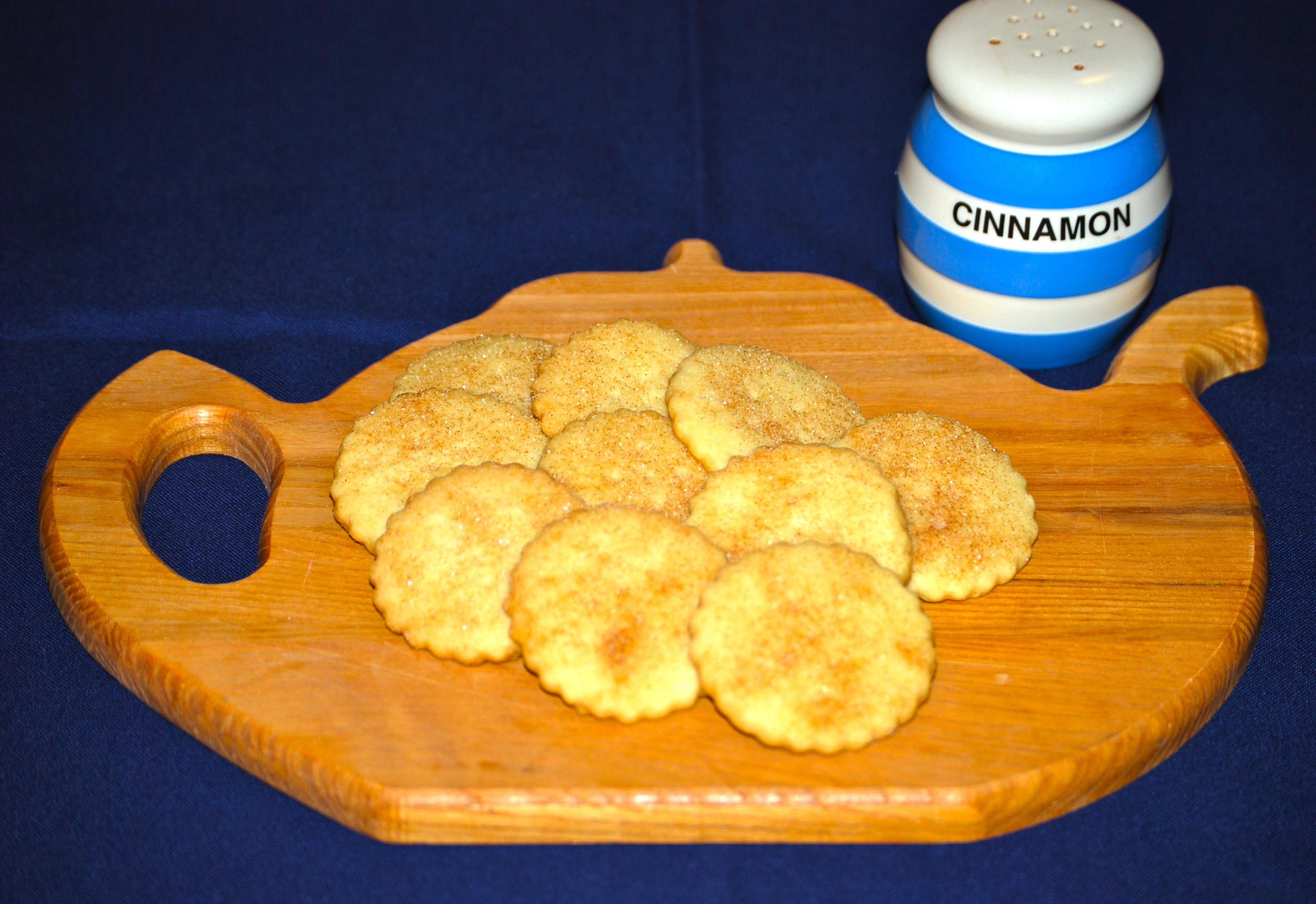 Cinnamon-Pecan Shortbread Recipe — Dishmaps