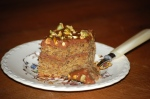 Pistachio and Milk Chocolate Squares