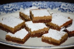 Lime and Ginger Bars