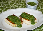 Seared Fish with Salsa Verde