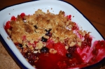 Very-Berry Oat Crumble