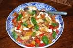Italian-Style Salad with Crisp Pancetta