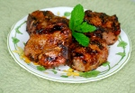 Citrus and Mustard Chops