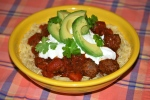 Smokey Chipotle Meatballs