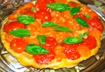 Tomato and Basil Tarte Tartin