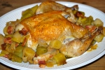 Pot-Roast Chicken with Leeks and Winter Salsa Verde
