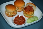 Turkey Burgers with Tangy Tomato Chutney