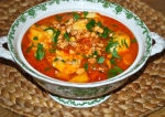 Spanish Fish Stew with an Almond Crumb