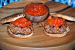 Beef and Salsa Burgers