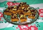 Chocolate Orange Pistachio Bars