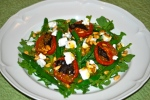 Feta and Green Bean Salad with Slow-Roasted Tomatoes