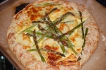 Free-Form Asparagus and Potato Tart