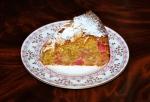 Rhubarb and Orange Cake