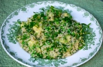 Quinoa, Pea and Avocado Salad
