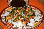 Sticky Glazed Chicken Satay