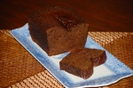 Sticky and Moreish Chocolate and Ginger Loaf Cake
