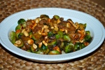 Sprouts with Pork and Peanuts