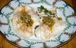 Baked Lemon Sole with Lemon and Caper Paste