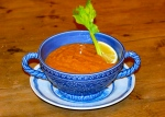 Roast Bloody Mary Tomato Soup