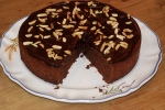 Amaretto and Almond Chocolate Torte