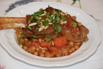 Lamb Shanks with Chickpeas and Moroccan Spices