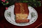 Rhubarb, Pistachio and Soured Cream Cake