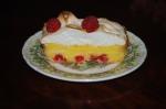 Lemon and Raspberry Meringue Tart