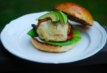 Simple Chicken Chipotle Burgers