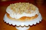 Peach, Pistachio, and White Chocolate Pound Cake
