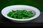 Sesame and Ginger Green Beans