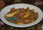Creamy Pork and Pear Cassoulet