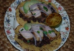Pork and Black Bean Tacos
